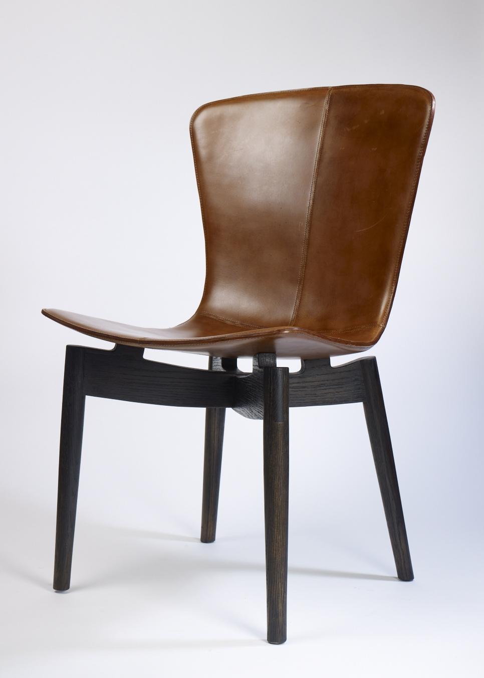brown side shell chair original dsr eames